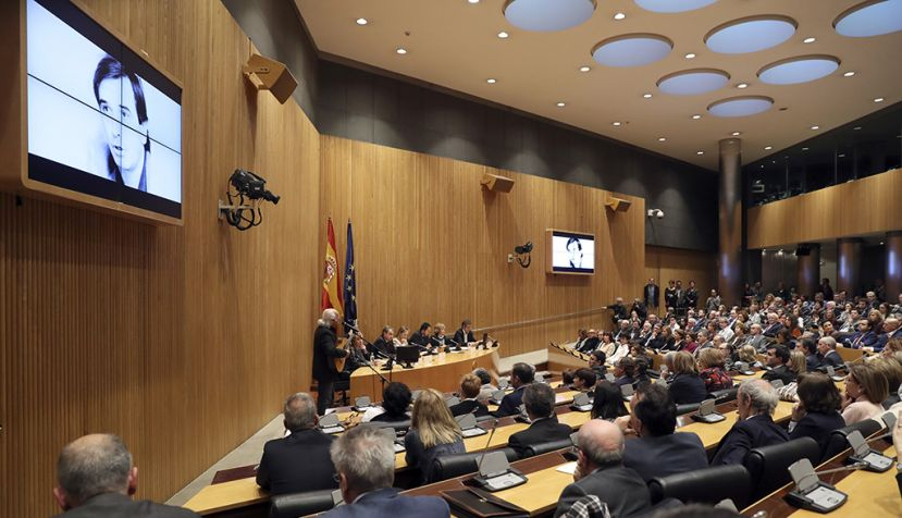 Mario Jiménez acude en representación de la Comisión Gestora al homenaje a José Antonio Alonso
