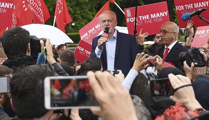 El Partido Laborista disminuye la brecha con los conservadores de May
