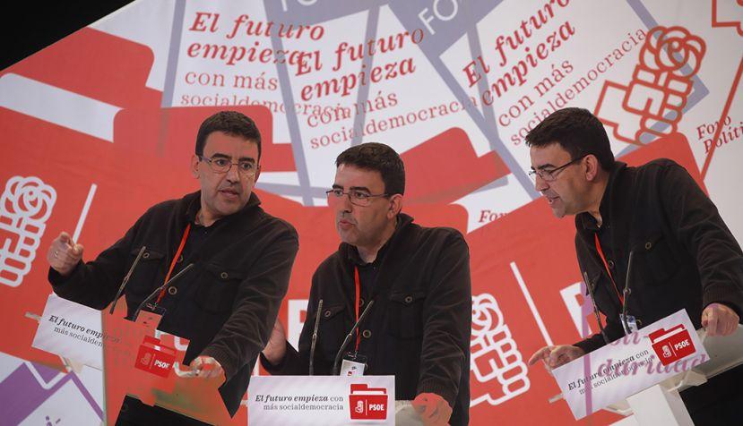 Presentación de conclusiones y clausura del Foro Político del PSOE